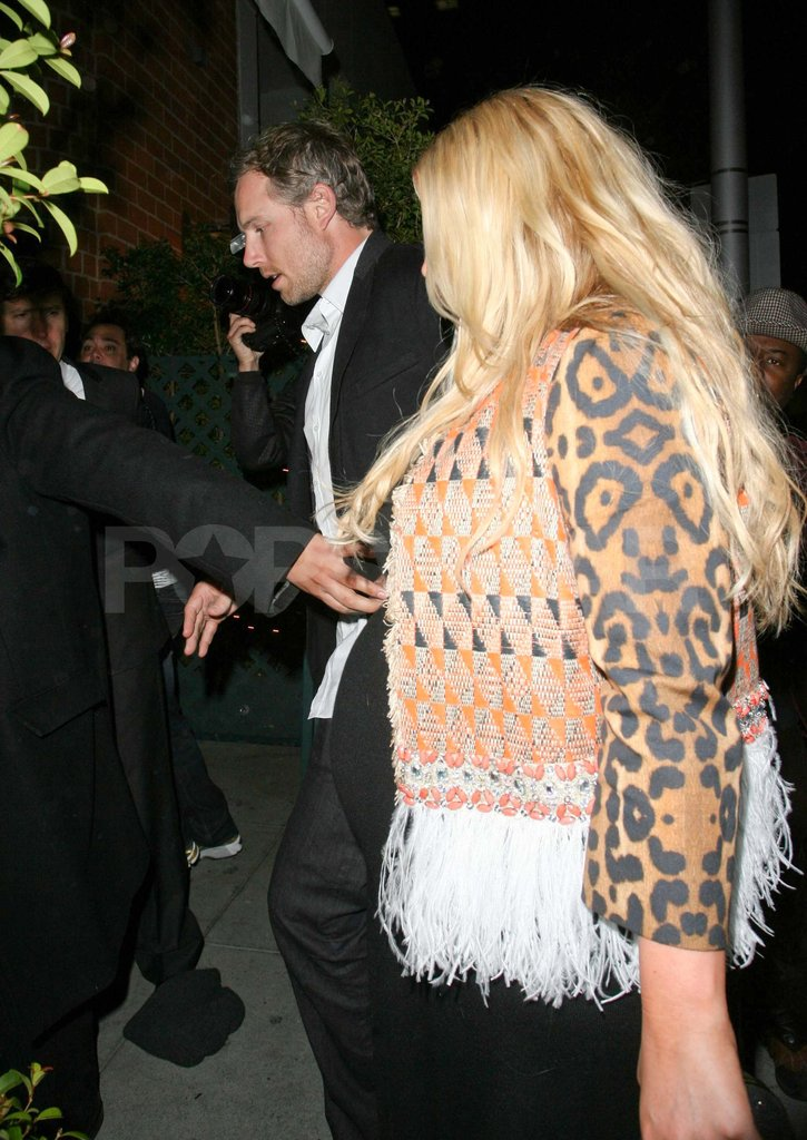 Jessica Simpson and Eric Johnson out to dinner.