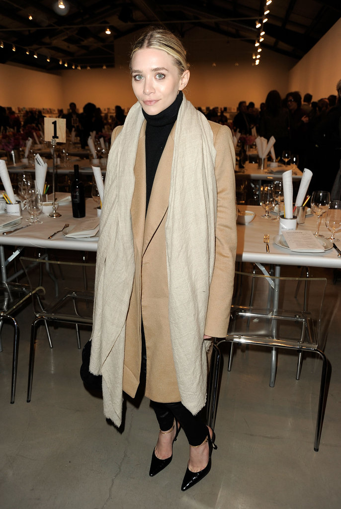 Ashley Olsen Supports the Arts and Snaps Up Another CFDA Nomination