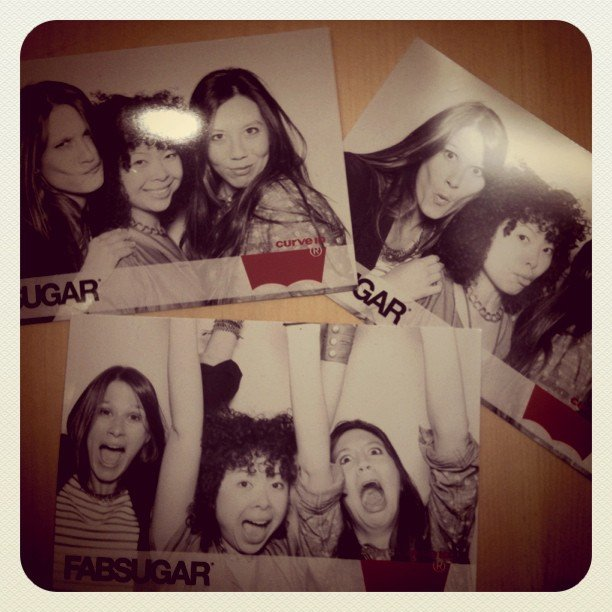 There was lots of photo-booth fun at our Levi's NYC party — just one of the many events we hosted this year.