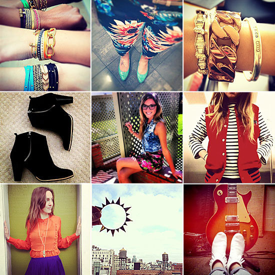 We launched our first ever Instagram Style Challenge, and showcased our favorite entries of Spring shoes, jewels, stripes, and brights.