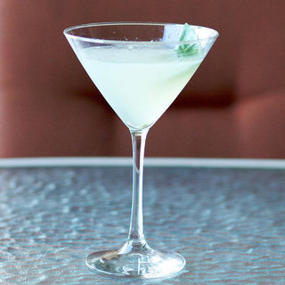 Low-Calorie Basil Gimlet Recipe