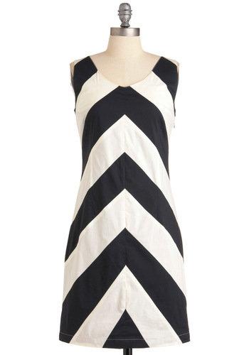 At Long Contrast Dress | Mod Retro Vintage Dresses | ModCloth.com