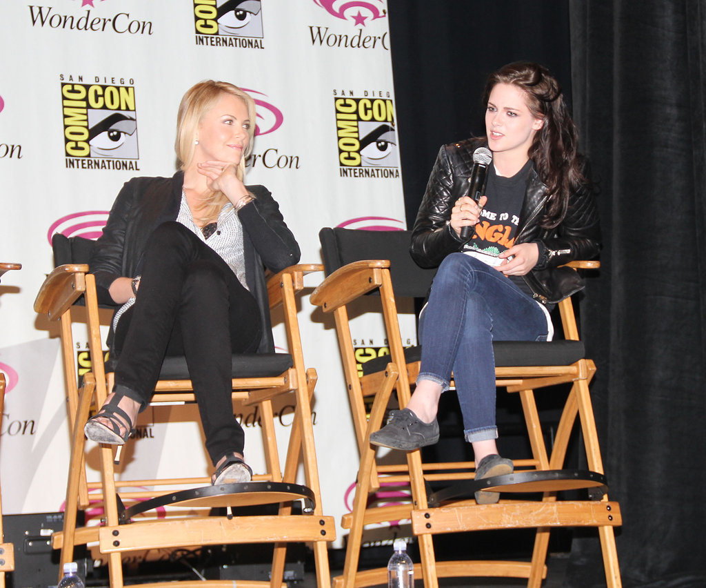 Charlize Theron and Kristen Stewart were at WonderCon.