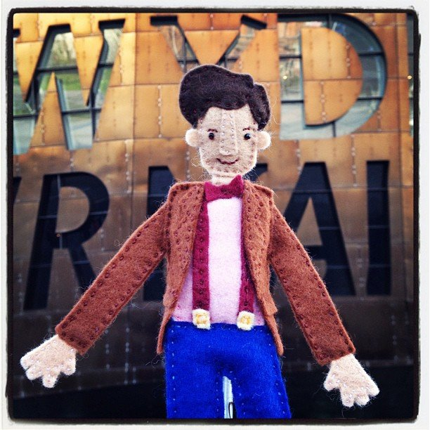 How badly do you want a knit Doctor toy now? Desperately! Photo: Instagram User knittingsquids