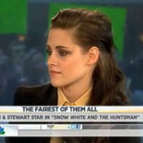 Kristen Stewart on the Today Show
