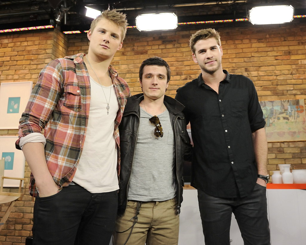Alexander Ludwig joined Liam Hemsworth and Josh Hutcherson in Toronto for an appearance.
