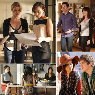 All the Small Screen Style from TV's Most Fashionable Shows: Revenge, Gossip Girl, Hart Of Dixie, Pretty Little Liars & more!