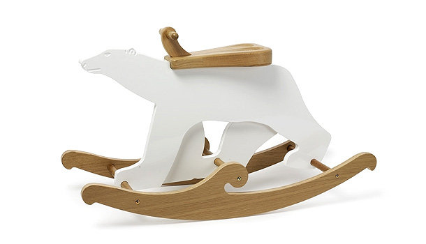 Netto Collection Rufus the Polar Bear Rocker ($295)