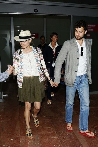 Diane Kruger's Vacation Style in Cannes