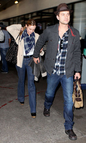 Diane Kruger Does Jeans and Plaid