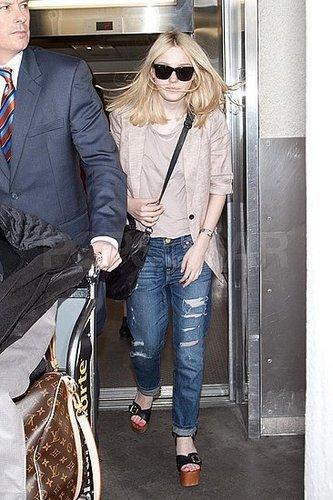 Dakota Fanning is Rad in Ripped Jeans