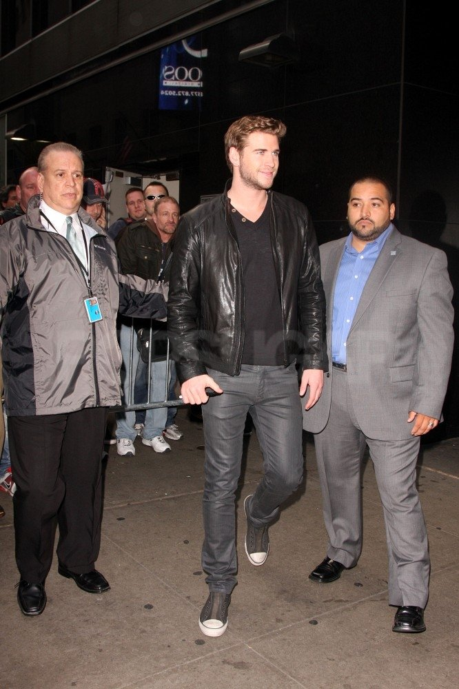 Liam Hemsworth Jets to NYC For More Fun and Games
