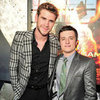 Liam Hemsworth and Josh Hutcherson Pictures at The Hunger Games Toronto Premiere