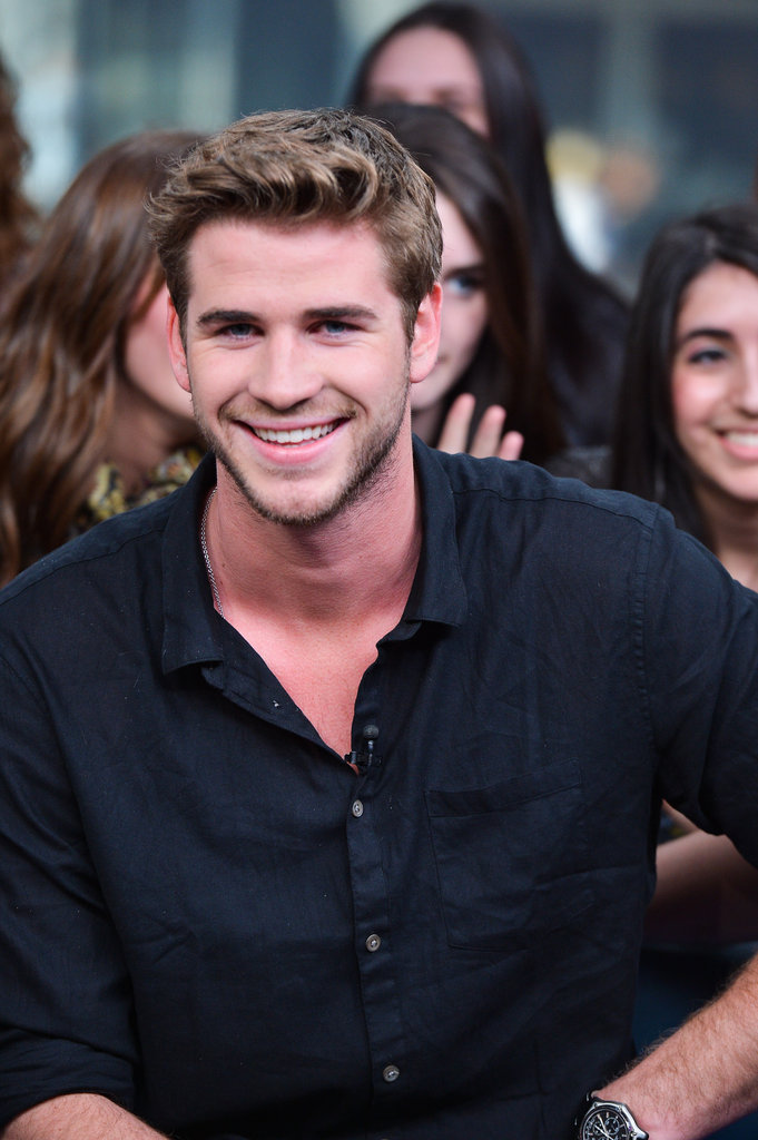 Liam Hemsworth in Toronto.