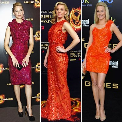 Elizabeth Banks Hunger Games Red Carpet Style