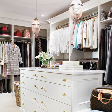 Bethenny Frankel Apartment and Closet Renovation