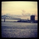 MS River Bridge, New Orleans
