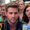 Liam Hemsworth The Hunger Games Interview on GMA