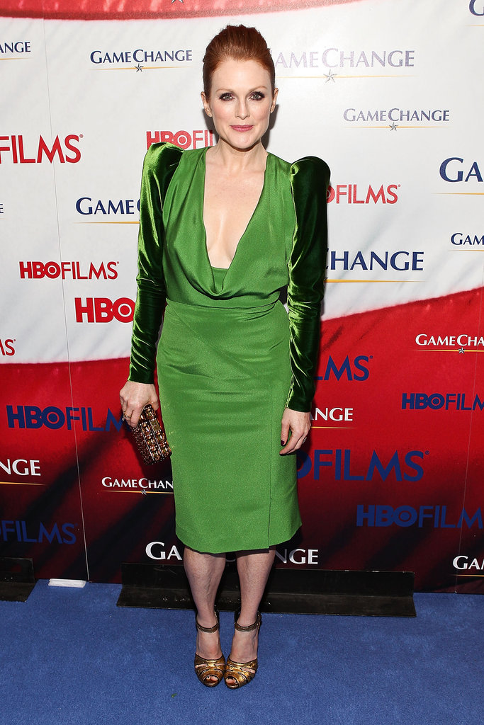 Julianne Moore in Tom Ford at the <em>Game Change</em> Premiere