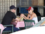 Reese Witherspoon and Jim Toth shared a romantic lunch date in LA in April 2010.