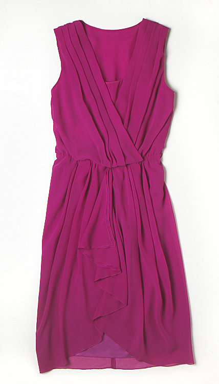 Alberta Ferretti for Macy's Impulse Fuchsia Wrap Dress ($69)