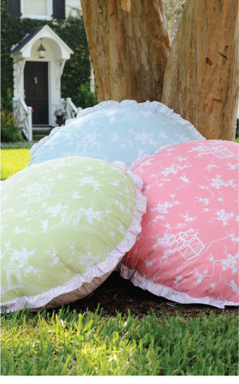 Pixie Pagoda Floor Pillow ($86)