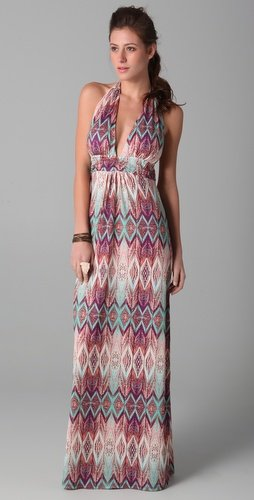 Vix Swimwear Ubud Bahama Long Dress