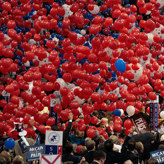 One Last Look at the Republican Convention: the Balloon Drop!