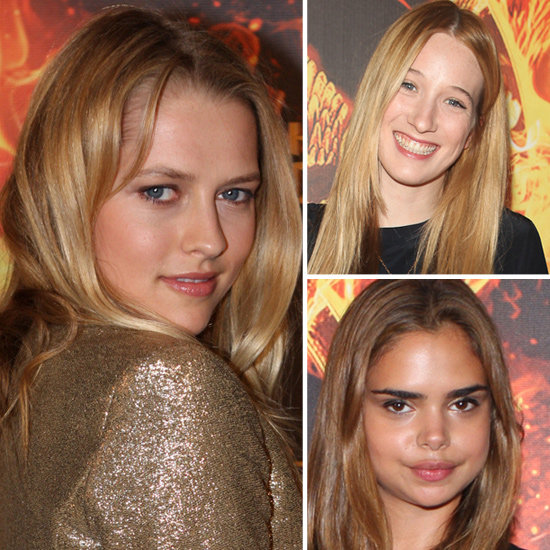 Teresa, Sophie and Samantha Hit The Hunger Games Sydney Premiere