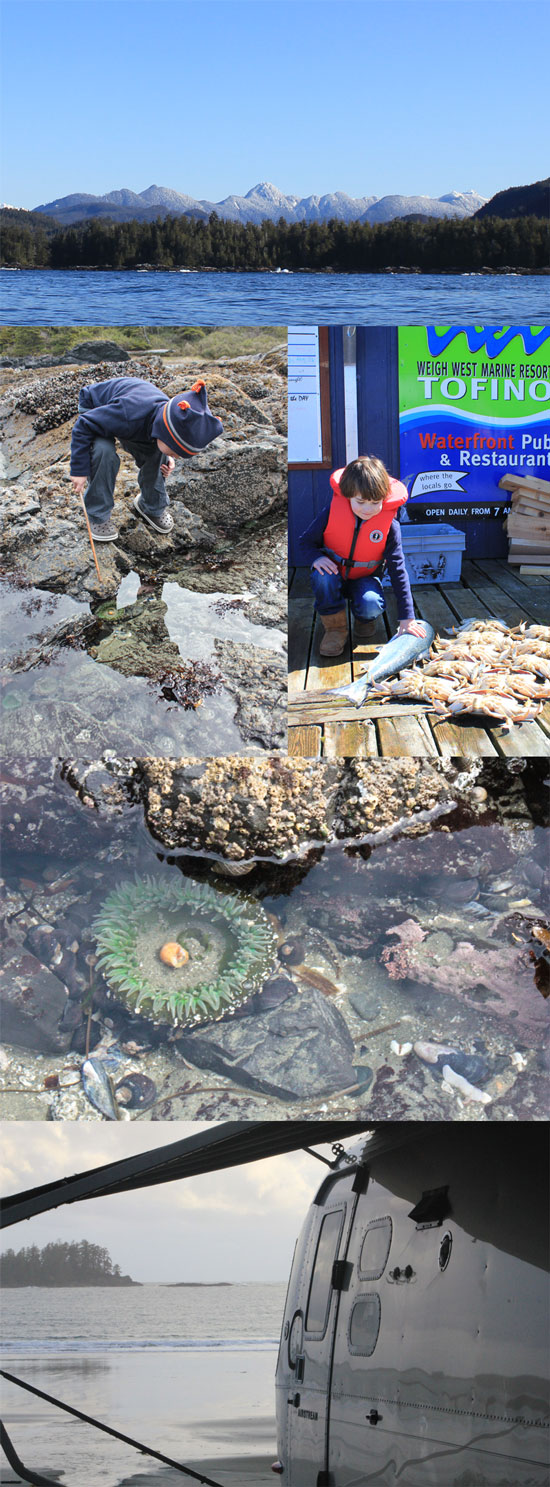 Deep Sea Fishing and Exploring Tide Pools in Tofino, BC