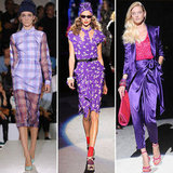 Colour Report: Pops of Purple