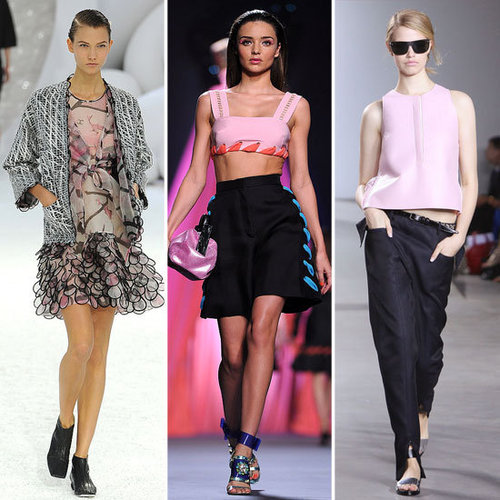 Spring 2012 Cool Color Combo: Pink + Black