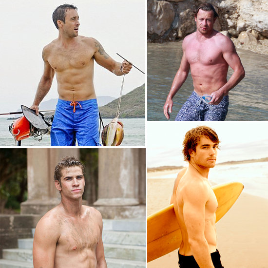 Scope Our Top 10 Aussie Shirtless Hunks, Just Because