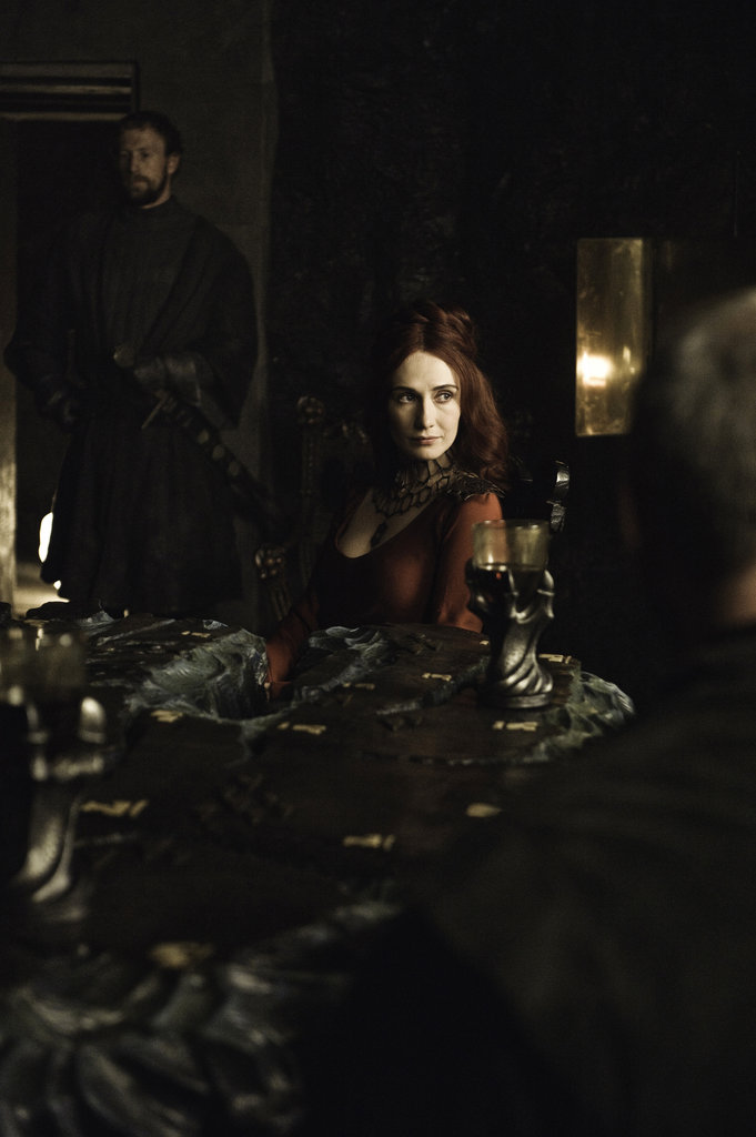 Carice van Houten as Mellisandre on Game of Thrones.  Photo courtesy of HBO