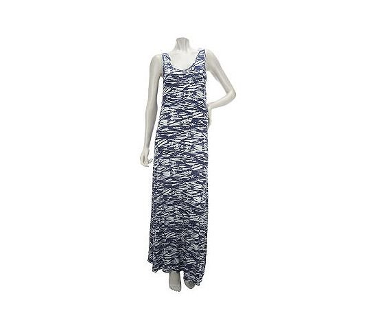 K-DASH Printed Maxi Dress ($78)