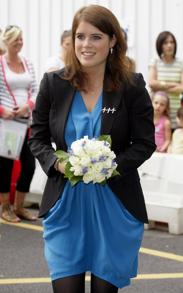 Eugenie attends the the opening of the Teenage Cancer Trust Unit in 2010.