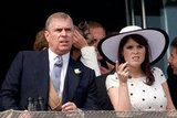 She enjoys the races with her father, Prince Andrew.