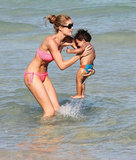 Bikini-Clad Doutzen Kroes Has More Fun Under the Sun