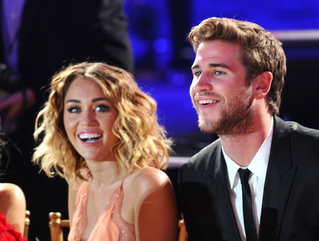 Engagment Rumors Surround Miley Cyrus and Liam Hemsworth While She Debuts a Large Diamond Ring