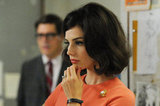 Jessica Paré as Megan Draper on Mad Men.  Photo courtesy of AMC