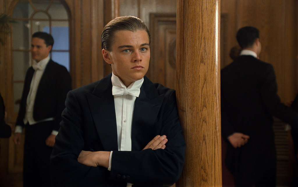 Leonardo DiCaprio in Titanic.  Photo courtesy of Paramount Pictures