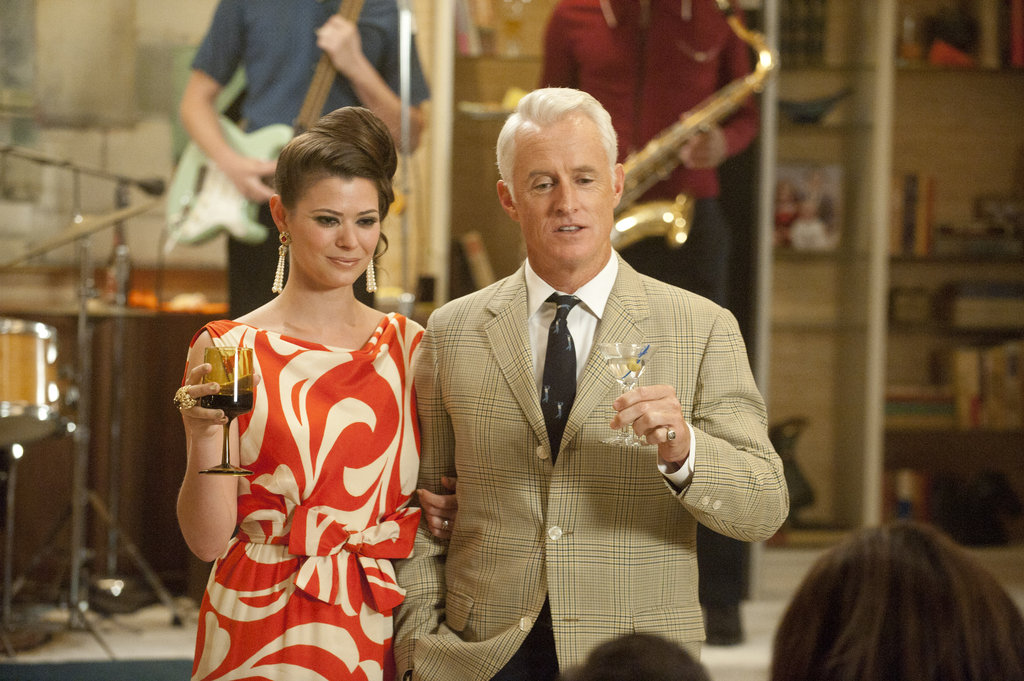 John Slattery as Roger Sterling on Mad Men.  Photo courtesy of AMC