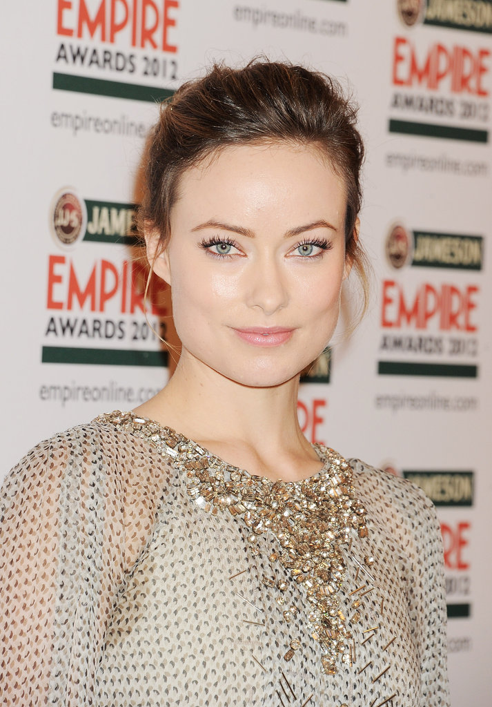 Olivia Wilde at the Jameson Empire Awards in London.