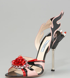 Prada Jewel-Toe Flame Sandal ($1,450)