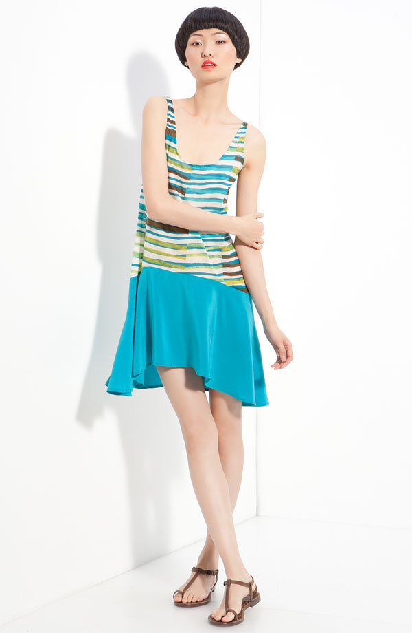 Thakoon Addition Asymmetrical Tank Dress ($420)