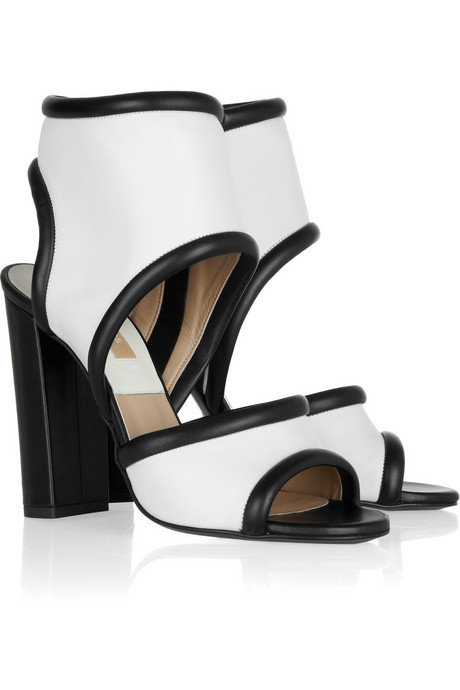 Michael Kors Leather Cuff Sandals ($945)