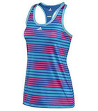 Adidas has had the iconic stripe thing going for a while, but this Climacore Graphic Tank ($40) takes a little twist on tradition. I'm loving the combo of pink and blue in this tank.