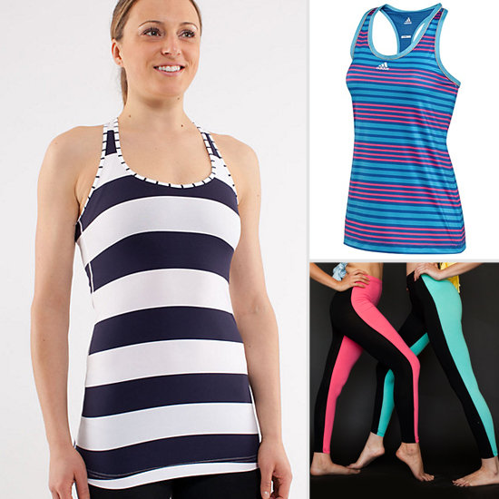 10 Trendy Ways to Sweat in Stripes