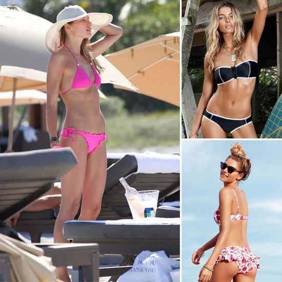 Top Five Sexiest Pictures of Swimsuit Model Jessica Hart in a Bikini: Celebrate The Aussie Supermodel's Birthday