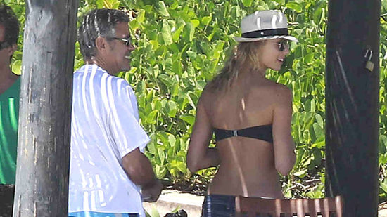 Video: Details on George Clooney and Stacy Keibler's Relaxed and Romantic Cabo Vacation